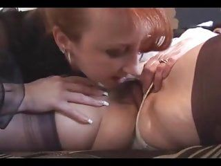 Breasty older lesbos close up muff licking