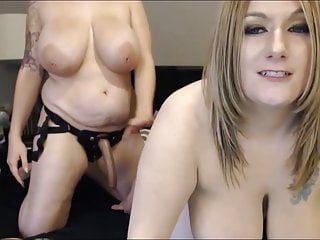 The hottest 2 large love bubbles female members fuck