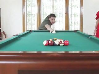 Sloan harper in spunk game of billiards