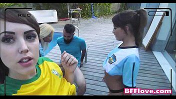 Legal age teenager soccer superlatively good allies engulf and fuck their trainer - bfflove.com