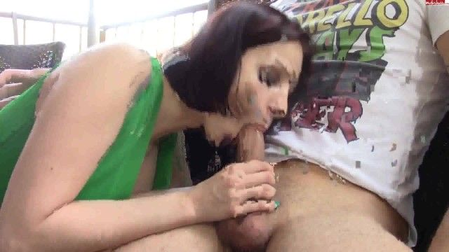 Hawt german playgirl smokes seduces sucks and copulates