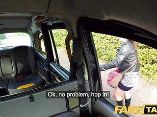 Fake Taxi große hawt spanische Wazoo springt als verengte bawdy Spalte gepumpt