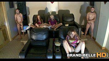 Il sex-toy home video theater gioca a brandi belle