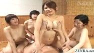 Jav bathhouse harem sex paradise with five hotties english subtitles