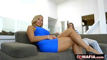 Nice-looking milf olivia austin bonks youthful wimp