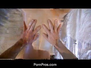 Pornpros delicate bawdy cleft massage