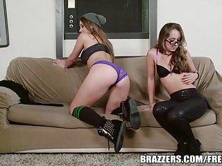 Brazzers - dani daniels - casting daybed girls