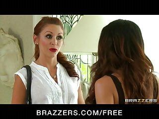 Brazzers - hawt mean redhead hottie bonks her big-tit roomate