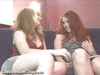 Hawt redhead lesbos make every other cum