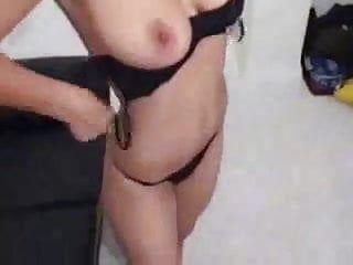 Large boob chick