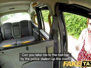 Fake taxi ginger knob monster deepthroats and anal