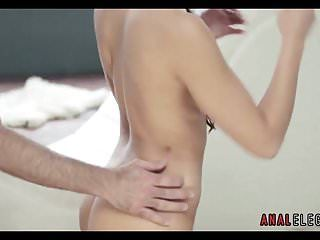 Anal loving dark brown chick