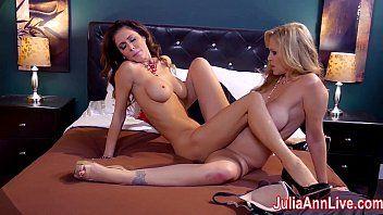 Hawt milf julia ann is a lusty lesbian