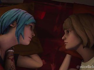 Life is strange - the 1st kiss max x chloe sfm animation